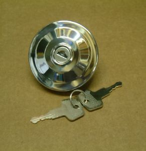 Locking Fuel cap T2 55-67, stainless steel